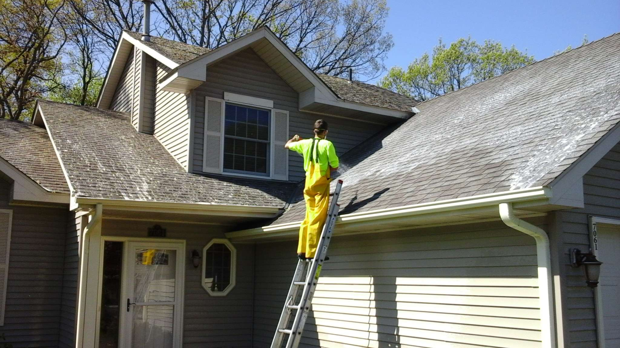 Roof Cleaning Lions Share Maintenance Exterior