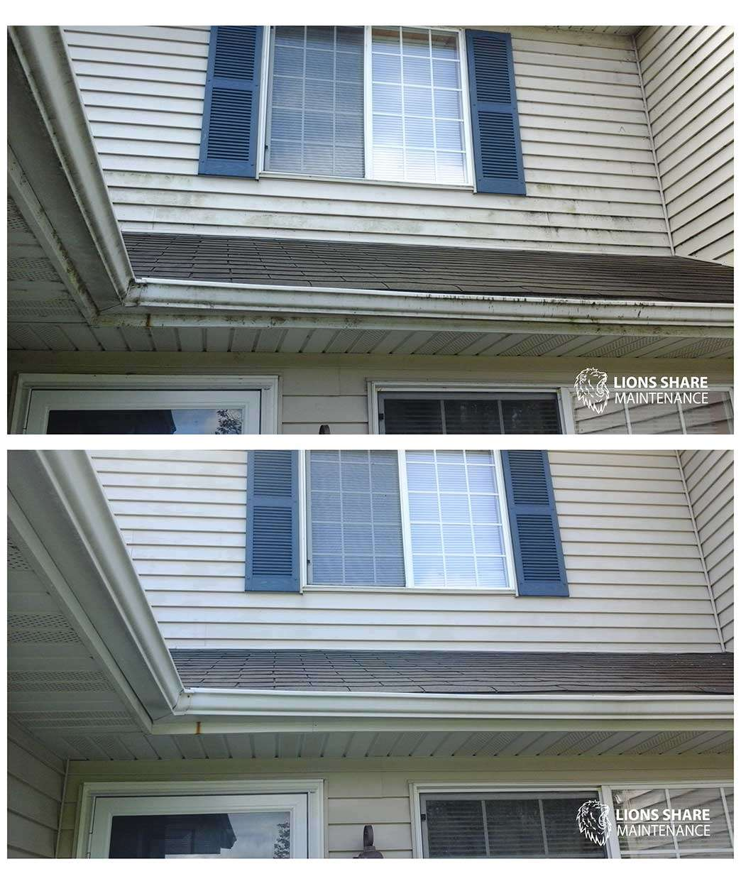 Siding Cleaning - Lions Share Maintenance