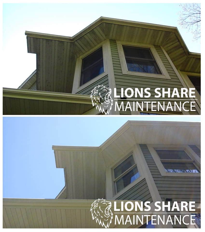 Why Cleaning Your Siding Matters