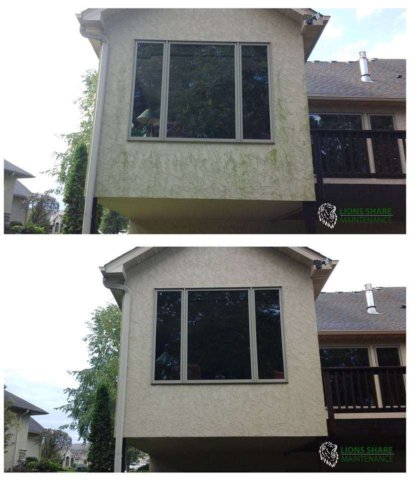 Stucco Cleaning Lions Share Maintenance Exterior Cleaning Services In Minneapolis St Paul