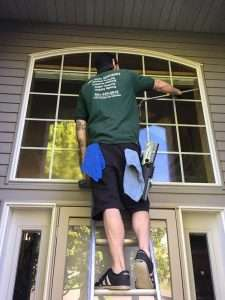how to clean windows from inside