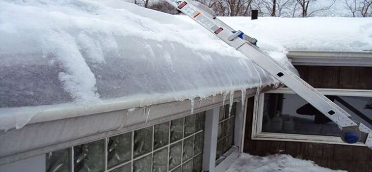 How Does Ice Dam Removal Prevent Damage to Your Property?