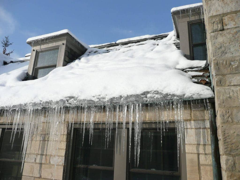 St. Paul and Minneapolis ice dam removal services