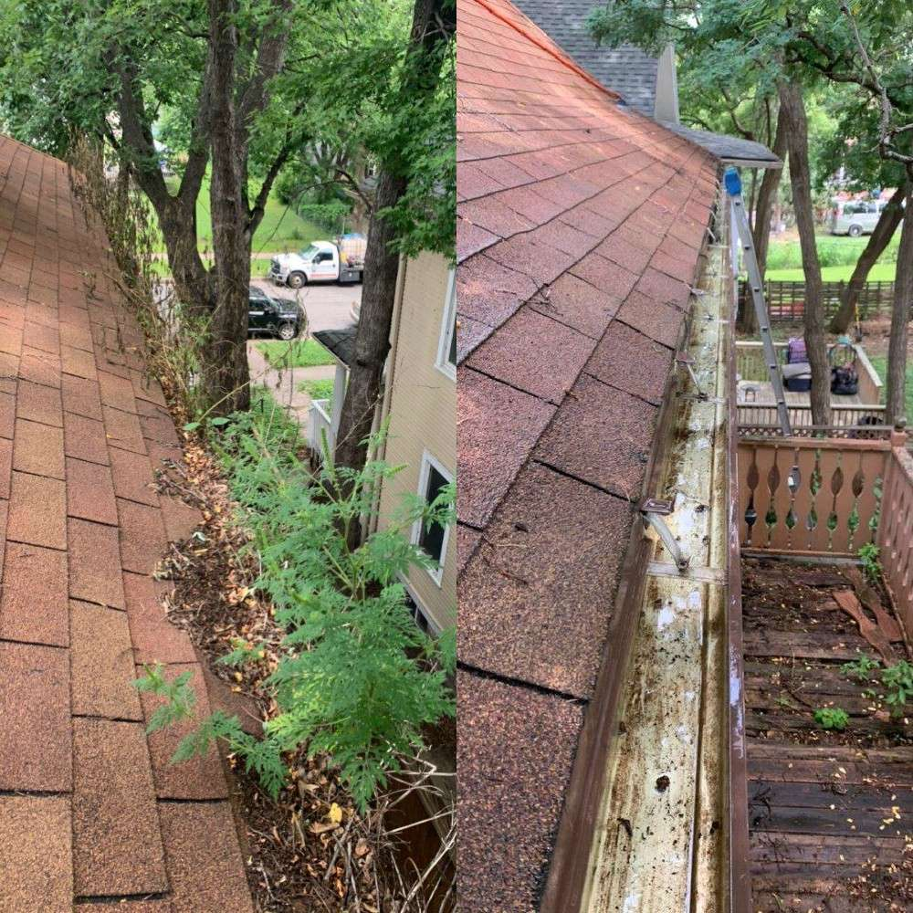 Don't Put Your Safety at Risk Cleaning Your Gutters